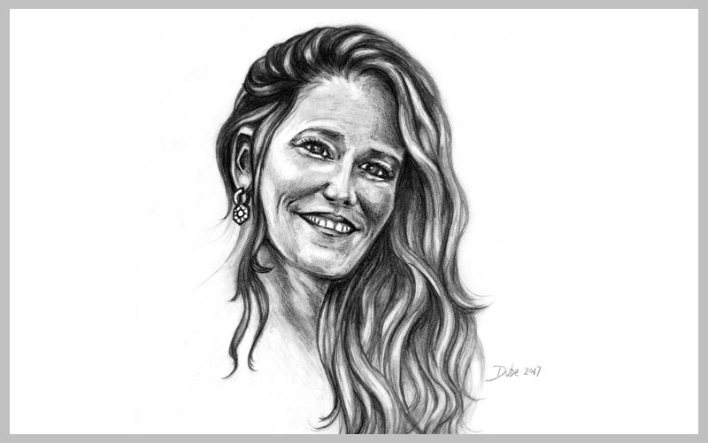 PORTFOLIO PORTRAIT PENCIL